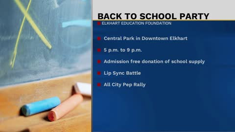 The 5th annual back to school event in Elkhart kicks off Saturday
