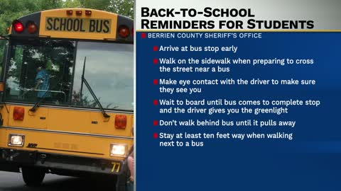 Driving law reminders as students head back to school