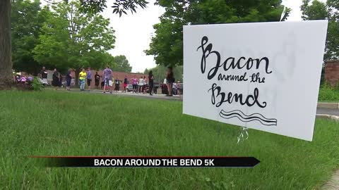 Bacon grease fuels 5K for charity