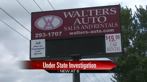 Goshen car dealer under investigation by state