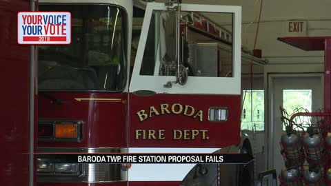 Baroda Township fire department tries to find a new plan after their ballot initiative failed