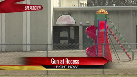 Juvenile detained after allegedly pointing BB gun at students at recess