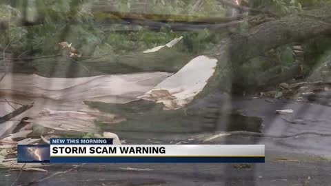Better Business Bureau warns people of post-storm scammers