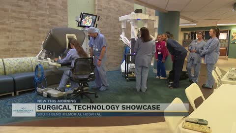 Memorial Hospital allows public to demo surgical robots