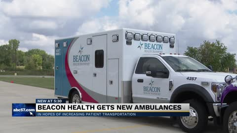 Beacon Health System gets five new ambulances