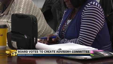 Benton Harbor Area Schoolboard votes to create advisory board...