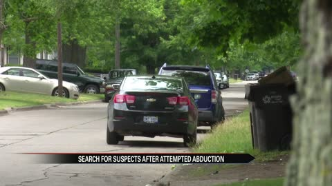 Search continues for suspects after attempted abduction in Benton Harbor