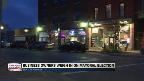 Benton Harbor business owners weigh in on Mayoral Election