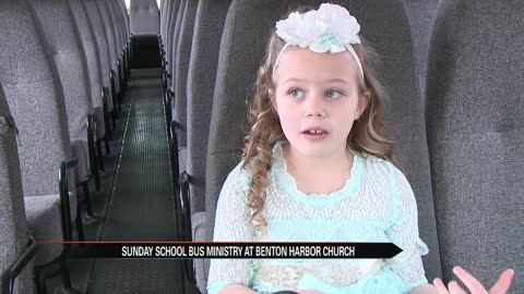 Benton Harbor Church starts a Sunday School bus ministry
