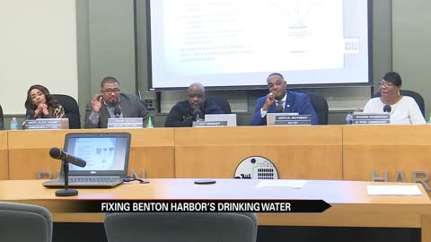 Benton Harbor city officials hold public hearing about fixing the city's drinking water