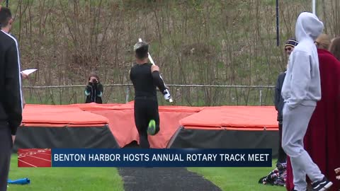 Benton Harbor continues tradition of annual Rotary Track Meet