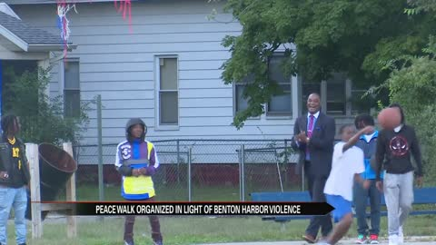 Benton Harbor holds peace walk in light of recent violence