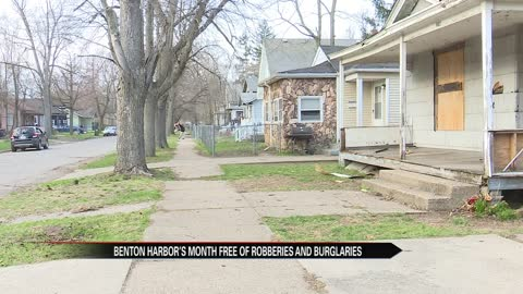 Benton Harbor sees sharp decline in violent crimes