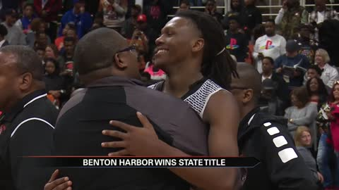 Benton Harbor wins OT thriller to capture state title
