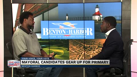 Benton Harbor's Mayoral candidates gear up for primary
