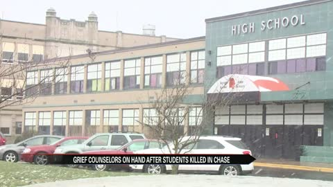 Grief counselors on hand at Benton Harbor HS after deadly pursuit