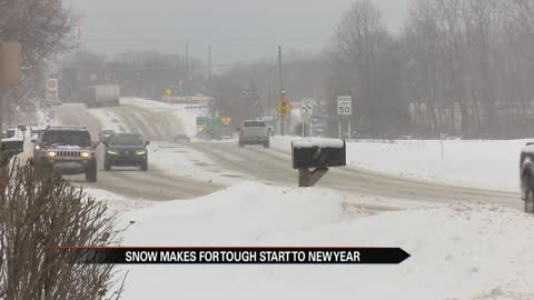 Berrien County businesses toughing out heavy snowfall