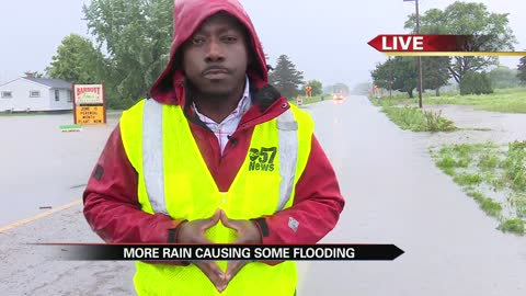 Berrien County sees more rain which is leading to flooding