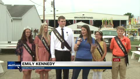 Berrien County Youth Fair royalty court celebrated for past fair...