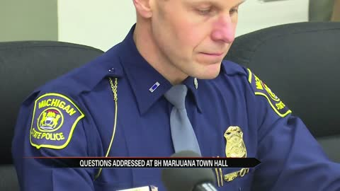 Marijuana in Michigan: Law Enforcement participated in town hall to answer questions about what's legal