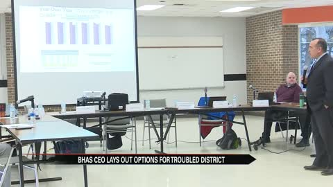 Benton Harbor schools CEO lays out options for struggling district