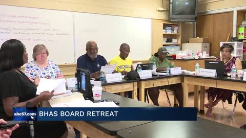 BHAS holds school board retreat meeting addressing issues facing the district