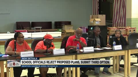Benton Harbor School Board rejects state's proposal to close...