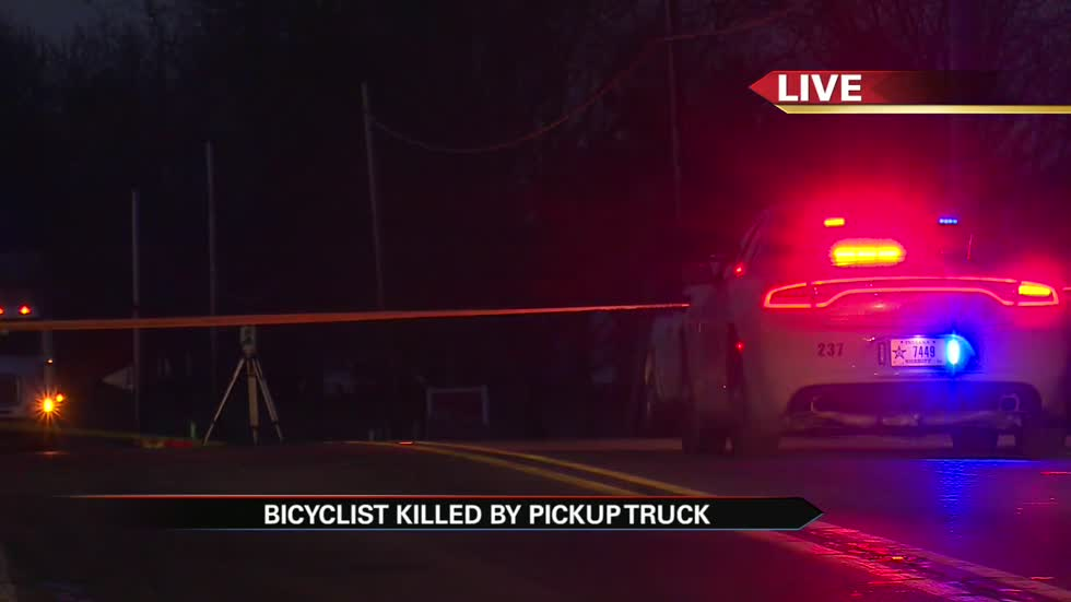Bicyclist hit and killed by pickup truck on SR 13 near Middlebury