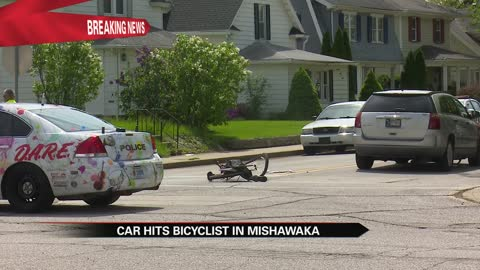 Bicyclist injured in crash at Byrkit and 3rd Street in Mishawaka