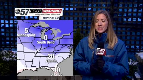 Coldest air of the season heading for U.S.