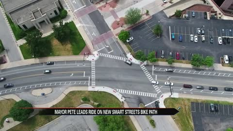 Bike path complete Smarts Streets Project