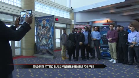 Black Panther: South Bend Community Schools participate in the #BlackPantherChallenge