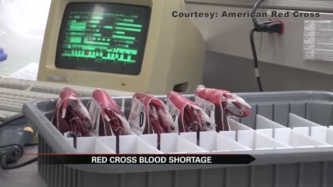 Critical blood shortage continues; American Red Cross asks for donations