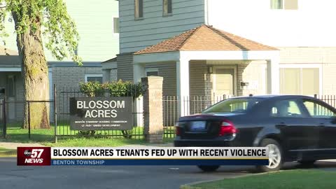 Blossom Acres tenants fed up with recent violence