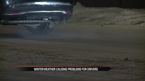 Blowing winds, frigid temperatures keeping snow on South Bend roads