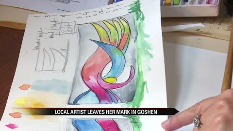 Murals are coming to the city of Goshen, local artists speaks out
