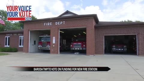 Baroda Twp. voters to decide on new fire station on August ballot