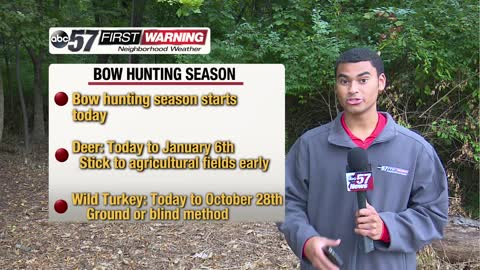 Bow hunting season starts today!
