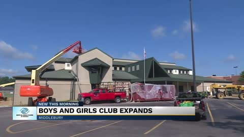 Multi-million dollar expansion underway at Boys & Girls Club...