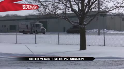 Suspect still on the loose after man dies at Patrick Metals in Mishawaka