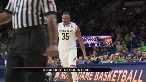 Brey ties record as Irish take ACC opener