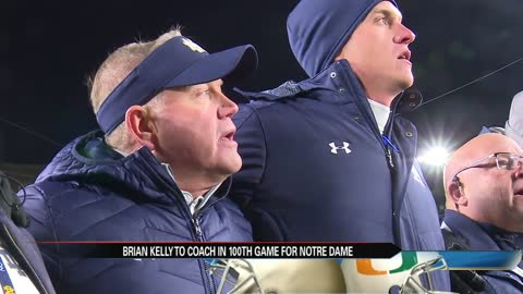 Brian Kelly set for 100th game as Notre Dame coach