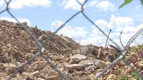 Scraps remain in South Bend months after brewery was demolished