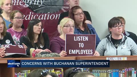 Buchanan community voice concerns with Buchanan Community Schools...