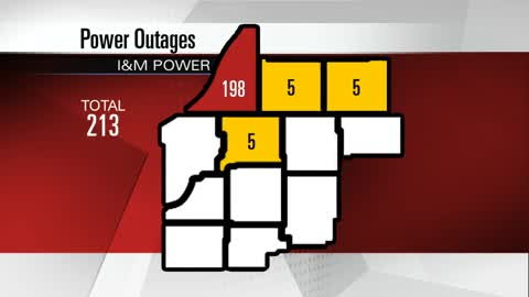 Buchanan residents go without power for over a day