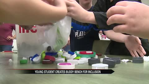 Cool Schools: Hums Elementary student promotes inclusion with buddy bench project