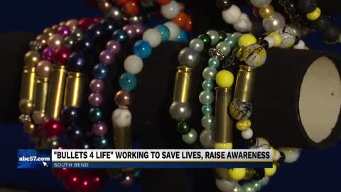 Local non-profit taking bullets off the streets, re-purposing them into jewelry