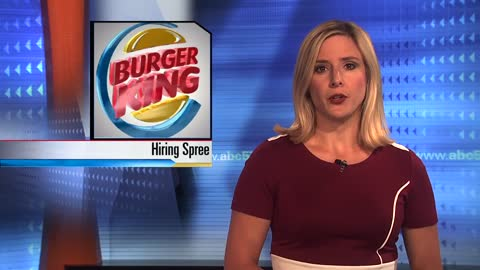 Burger King looking to hire more workers in Michigan