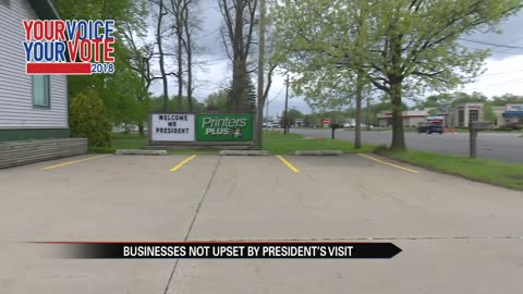 Businesses along SR-19 anticipate president's arrival