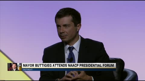Buttigieg attends NAACP convention, weighs in on racial issues